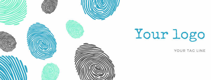 Colorful Fingerprints Indigenous Peoples Facebook Cover